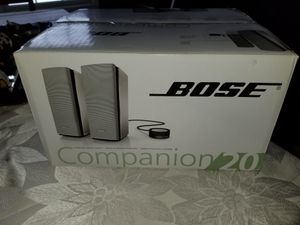 Bose companion 20 for Sale in Cadillac, MI