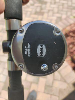 Penn Defiance 25lw fishing reel combo for Sale in Tamarac, FL