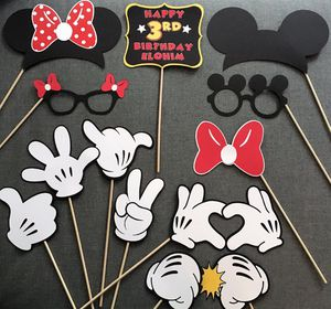 disney birthday party supplies / decor MICKEY MINNIE MOUSE photo booth props banners - hands ears MORE! for Sale in Irvine, CA