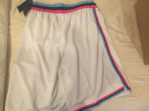 detailed look 18eee 7ff4c Miami Heat Vice Nike Swingman Shorts Brand New for Sale in Cooper City, FL  - OfferUp