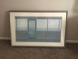 Great grey frame picture for Sale in Largo, FL