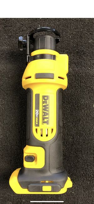 New DeWALT 20V Li-Ion Max Cordless Rotary Drywall Cut-out.(Tool Only) for Sale in Oxon Hill, MD