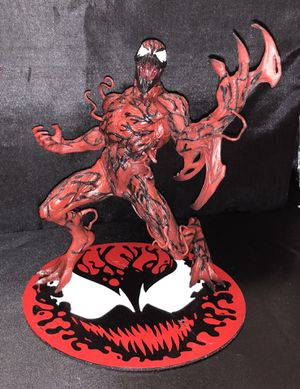 Carnage artfx statue magnetic base. Spiderman collectible for Sale in Queens, NY