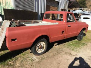 1971 Chevrolet C20 Long Bed Pickup Truck for Sale in Lakeside, CA
