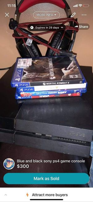 PS4 for Sale in Rossville, GA
