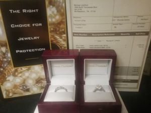 14k White Gold & Sapphire Wedding Set for Sale in Murfreesboro, TN