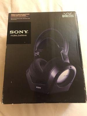Sony MDR-RF925R Headband Wireless Headphones - Black for Sale in Las Vegas, NV