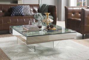 New Meria mirrored accent coffee table for Sale in Miami, FL