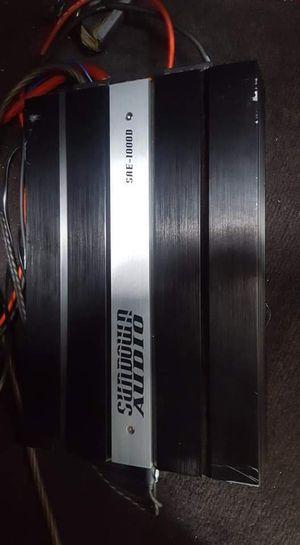 2 sundown audio 15's 1 sundown audio amplifier 1000watt for Sale in Monroe, LA