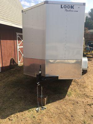 Look 7 x 16 enclosed cargo trailer for Sale in Corona, CA
