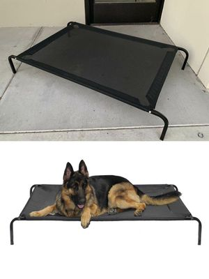 New in box XL X-large raised dog pet cot bed 51.5x31.5x8 inches tall for large pets up to 115 lbs capacity elevated cuna de perro for Sale in Whittier, CA