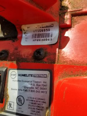 Homelite chainsaw for Sale in Harvey, IL