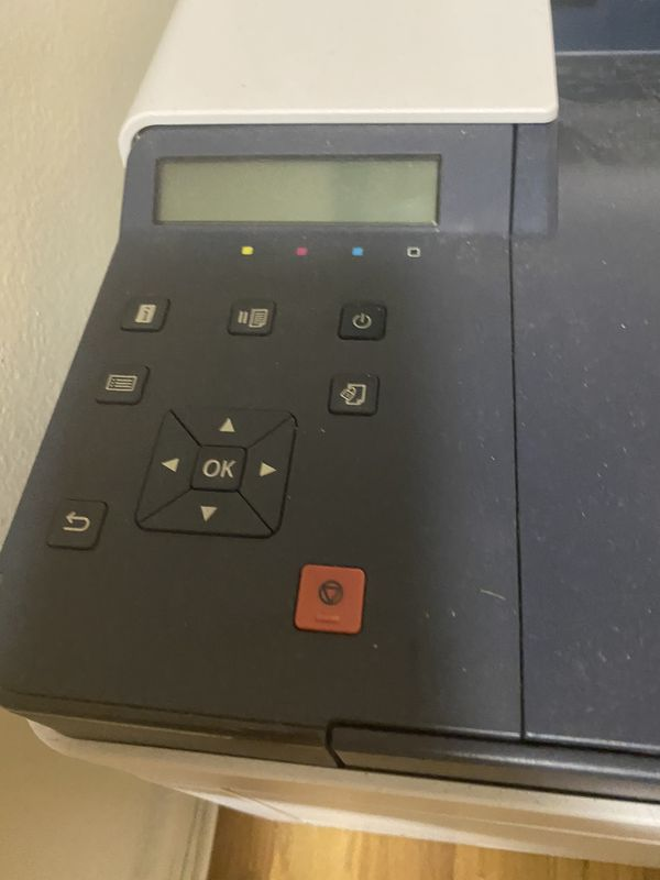 Xerox phasers 6510 laser printer color