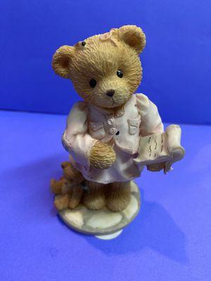 Hilary Hugabear CT952 Cherished Teddies 1994 1995 Membears Only Figurine 28 for Sale in Chula Vista, CA