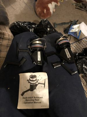 2 brand new swift 660/F fishing reels for Sale in Plum, PA