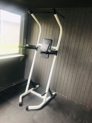 BODY VISION multi functional/pull-up Tower for Sale in Tacoma, WA