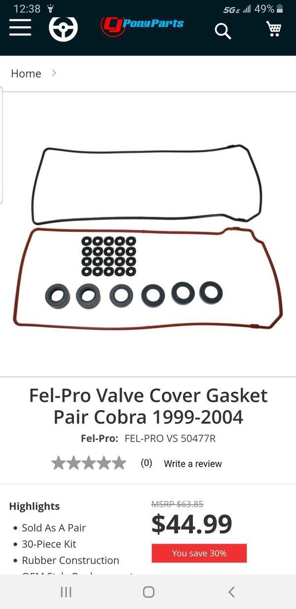 99-04 Mustang Cobra / GT parts