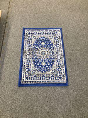 Royal blue color door mat area rug brand new for Sale in Salem, OR
