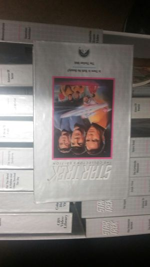 Star track whole collection vhs for Sale in Modesto, CA