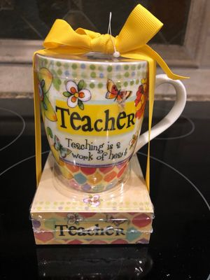 NEW Teacher Cup and Notepad with tags for Sale in Smyrna, TN