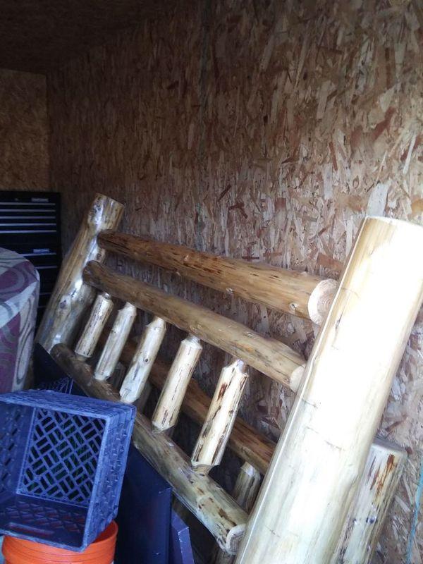 Handmade Custom Hardwood Bed-frame