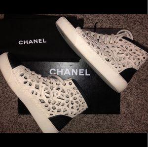 c10b7208e5b9 Authentic CHANEL sneaker, 37 for Sale for sale Atlanta, GA