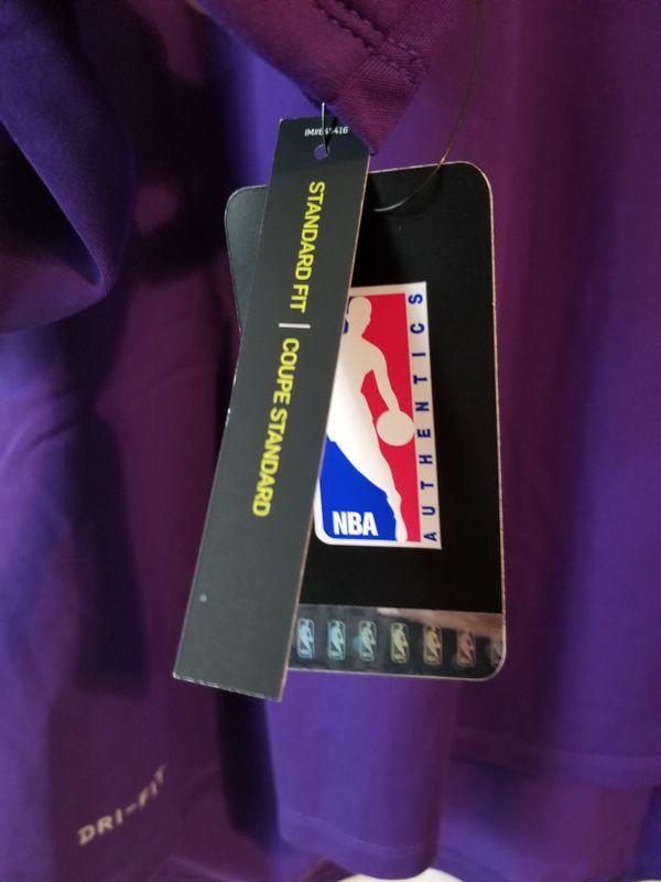 Nike Dri-Fit Mens-XL Los Angeles Lakers