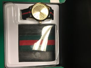 Gucci wallet x watch serious inquires only! Deal for Sale in Southfield, MI