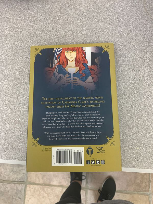 The Mortal Instruments graphic novel