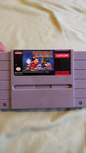 The Magical Quest Starring Mickey Mouse SNES Super Nintendo Disney for Sale in El Monte, CA
