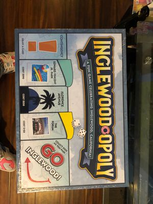 Inglewoodopoly board game for Sale in Inglewood, CA