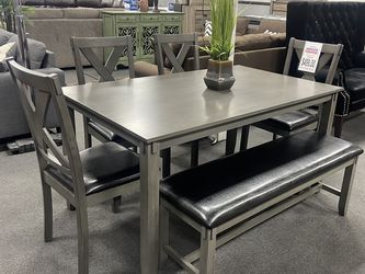 6-pc Dining Table Set On Sale 🔥 for Sale in Fresno,  CA