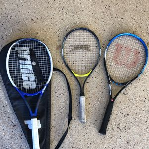 Three Tennis Rackets for Sale in Anaheim, CA