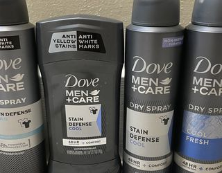NEW DOVE MENS DRY SPRAY & DEODORANTS 48HR FRESH CLEAN BODY SPRAY for Sale in Tacoma,  WA