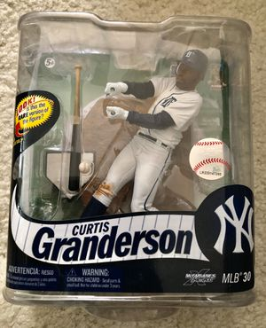 McFarlane Curtis Granderson New York Yankees figure for Sale in Concord, CA