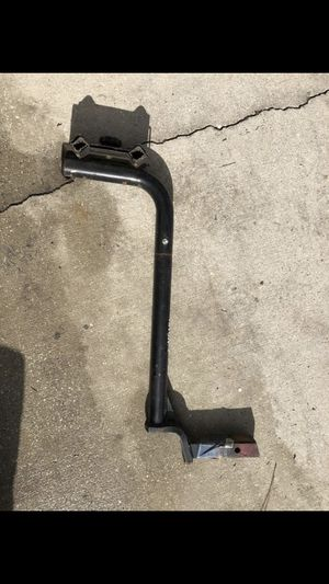 Double bike rack for trailer hitch receiver for Sale in MAGNOLIA SQUARE, FL