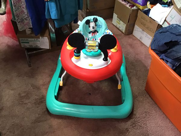 Mickey Mouse walker