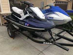 Yamaha Waverunners with trailer 2018 for Sale in Sanger, CA