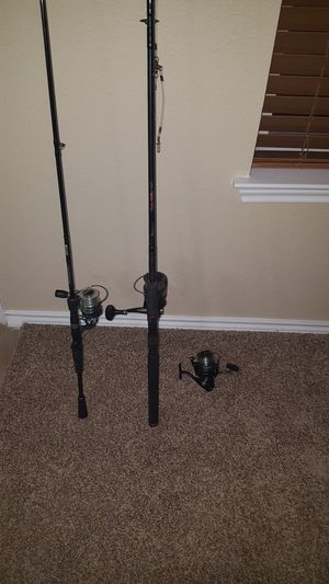 Fishing rods for Sale in San Antonio, TX