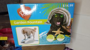 Dog garden fountain for Sale in Lexington, KY