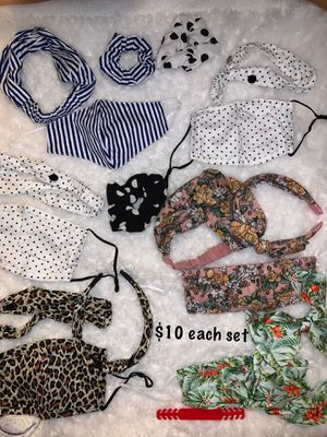 Mask prices on pics for Sale in Victoria, TX