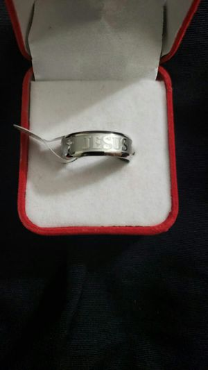 """1 Pcs popular silver plated men""""s ring size 10 for Sale in Moreno Valley, CA"""