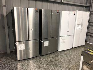EARLY BLACK FRIDAY! Samsung Refrigerator Fridge Stainless Steel White #794 for Sale in Houston, TX