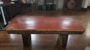 Coffee table made of a tree trunk. Very unique and sturdy. for Sale in St. Louis, MO