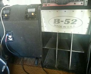 2 . B÷52 subwoofers 1000 power watts each for djs/ bands $1,200 for both good condition. for Sale in Harrisonburg, VA