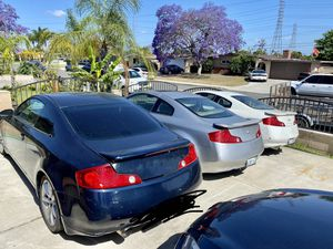 Infiniti G35 Coupe 2003 / 2006 parts for Sale in Garden Grove, CA