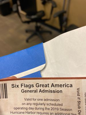 Six flags great america season ticket for Sale in Bolingbrook, IL