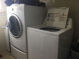 Washer and gas dryer for Sale in Baltimore, MD
