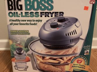 Big Boss Oil-less Fryer for Sale in Happy Valley,  OR