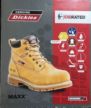 Dickies maxx steel toe work boots for Sale in Bingham Canyon, UT
